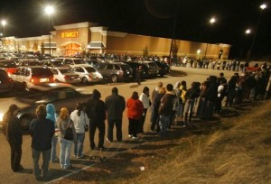 Black Friday Causes Record-Breaking Madness