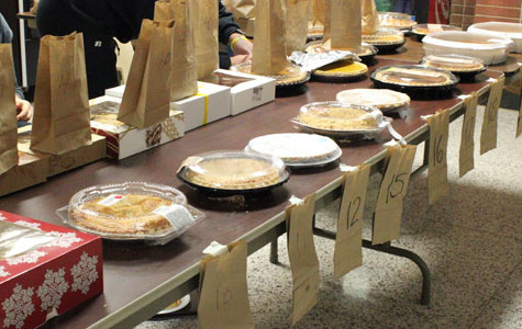 Blue Gold Pie Auction