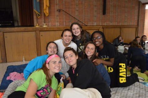 2015 Big Sister Little Sister Sleepover