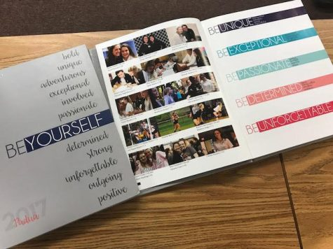 Students were given their yearbooks on May 8th