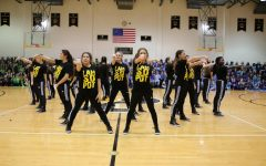 Padua Dance Team Performs at Pep Rally