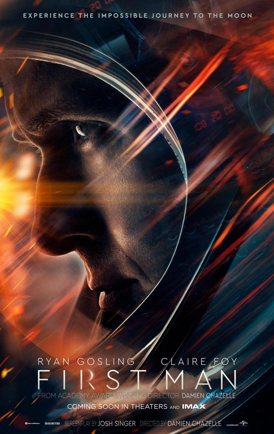 First Man came to theaters on October 12 and grossed $16 million on opening weekend.