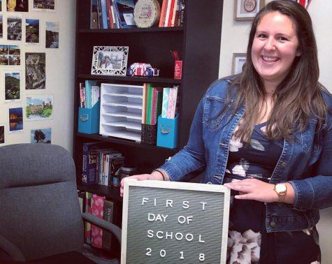 Ms. Altoe is a new English teacher at Padua Academy.