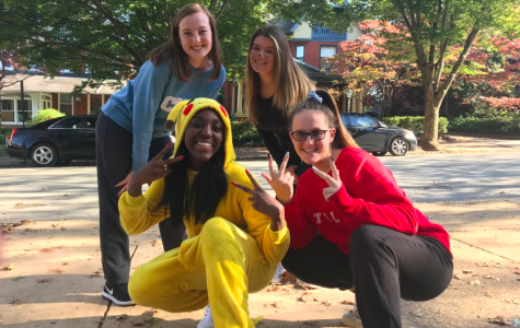 Padua Students Celebrate the Spooky Season