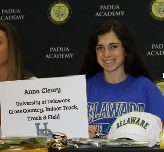 Anna Cleary: Division I Athlete