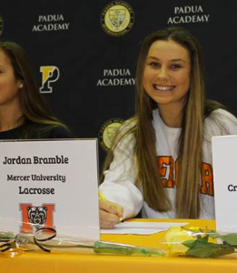 Jordan Bramble: Division I Athlete