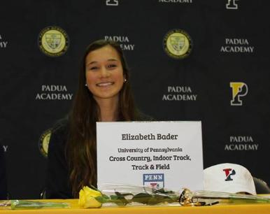 Elizabeth Bader: Division I Athlete