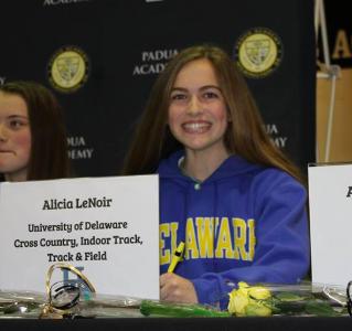 Alicia LeNoir: Division I Athlete