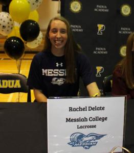 Rachel Delate: Division III Athlete