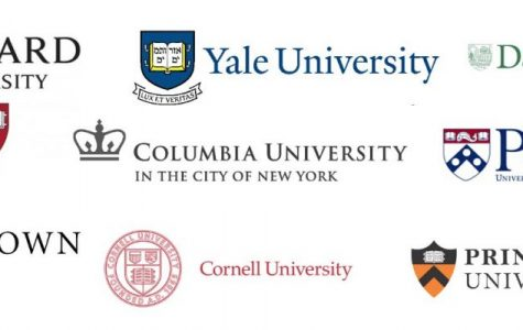 The Ivy League consists of eight famous colleges, all based in New England.