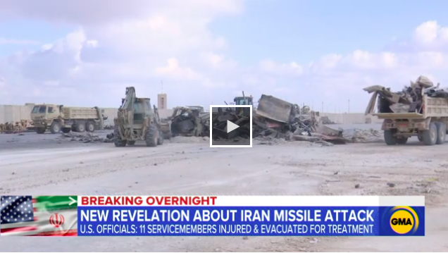 The+conflict+between+Iran+and+America+has+sparked+news+headlines+such+as+this+one.+American+service+members+were+injured+in+a+missile+attack+on+a+US+base+in+Iraq.