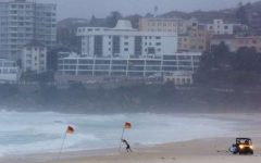What Sydney looks like during the storm.