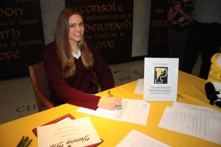 Padua Senior Signs for Rider University