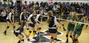 Padua vs. St. Mark's Volleyball Games