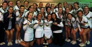 Flip into Padua's 2013-2014 Cheerleading Season