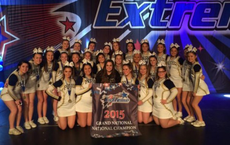 Padua Cheer Leading Takes Home First