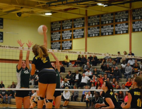 Can You Dig It? The Varsity Volleyball Team Loses in the Semi-Finals
