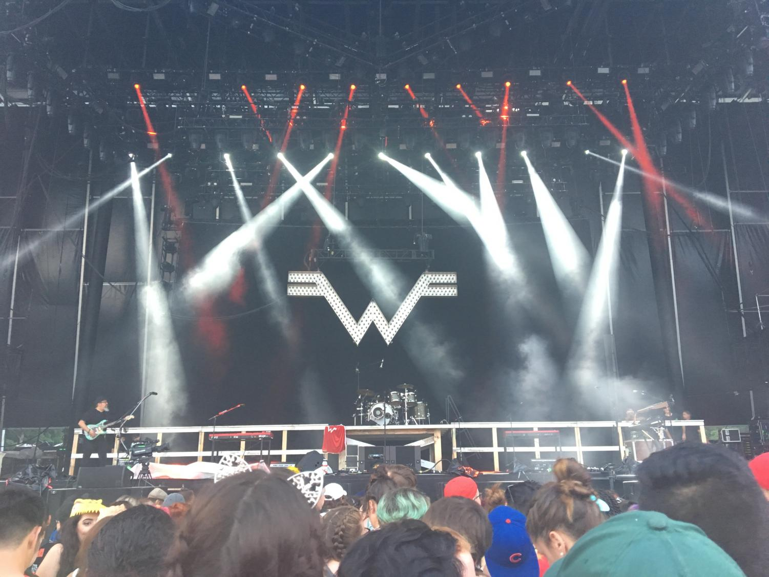 The Main Stage at Firefly before Weezer was going to perform.