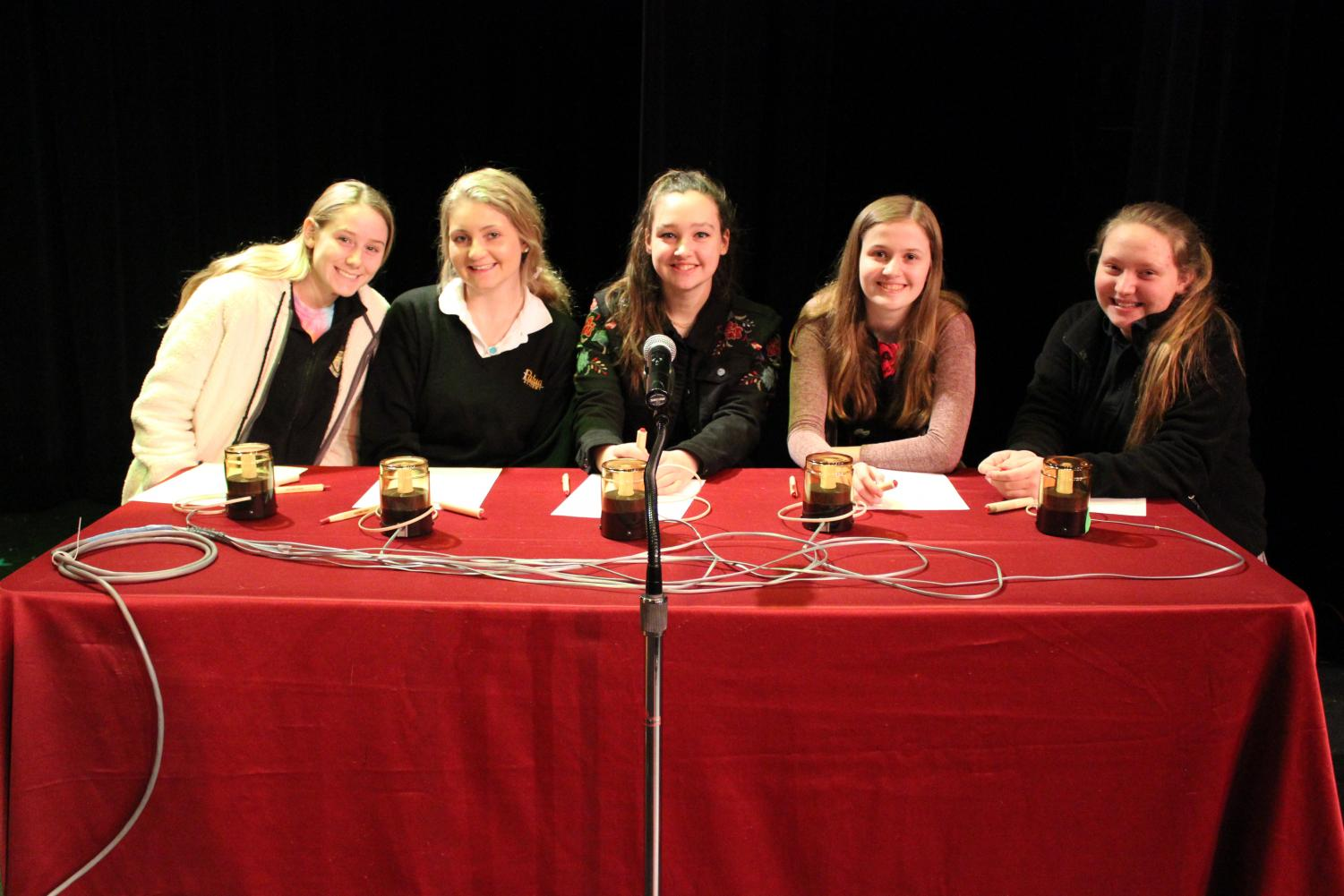Padua at the Academic Bowl final.