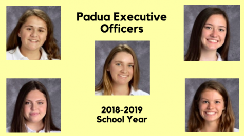 Executive Officers For The 2018-2019 School Year