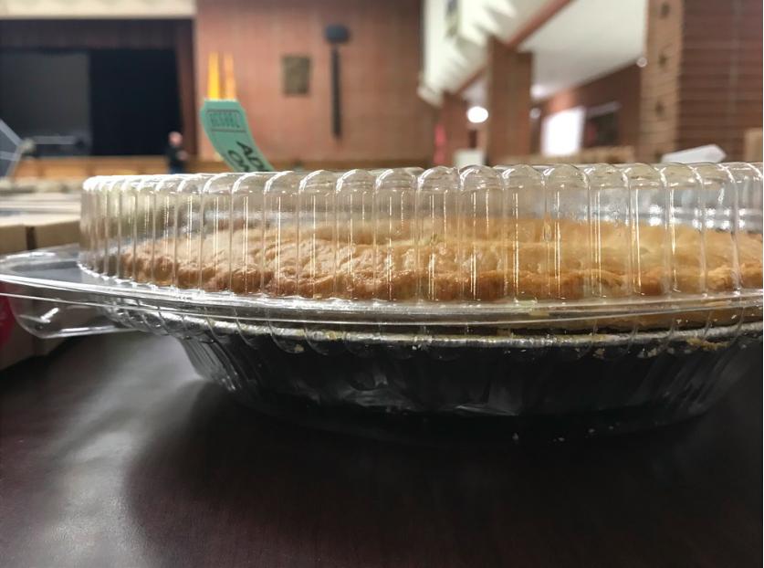 Blue Gold Pie Auction