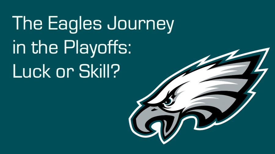 The Philadelphia Eagles will play the New Orleans Saints on Sunday.