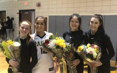 Seniors Play Their Last Season Game on Senior Night