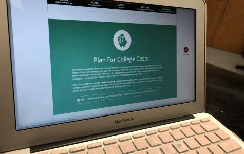 A picture of the Common App financial page.