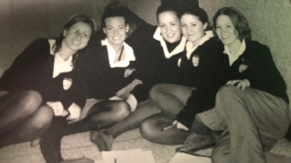 Padua students in 2001.
