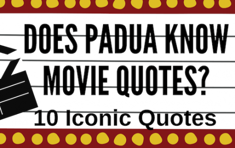 Do Padua Students know Popular Movie Quotes?