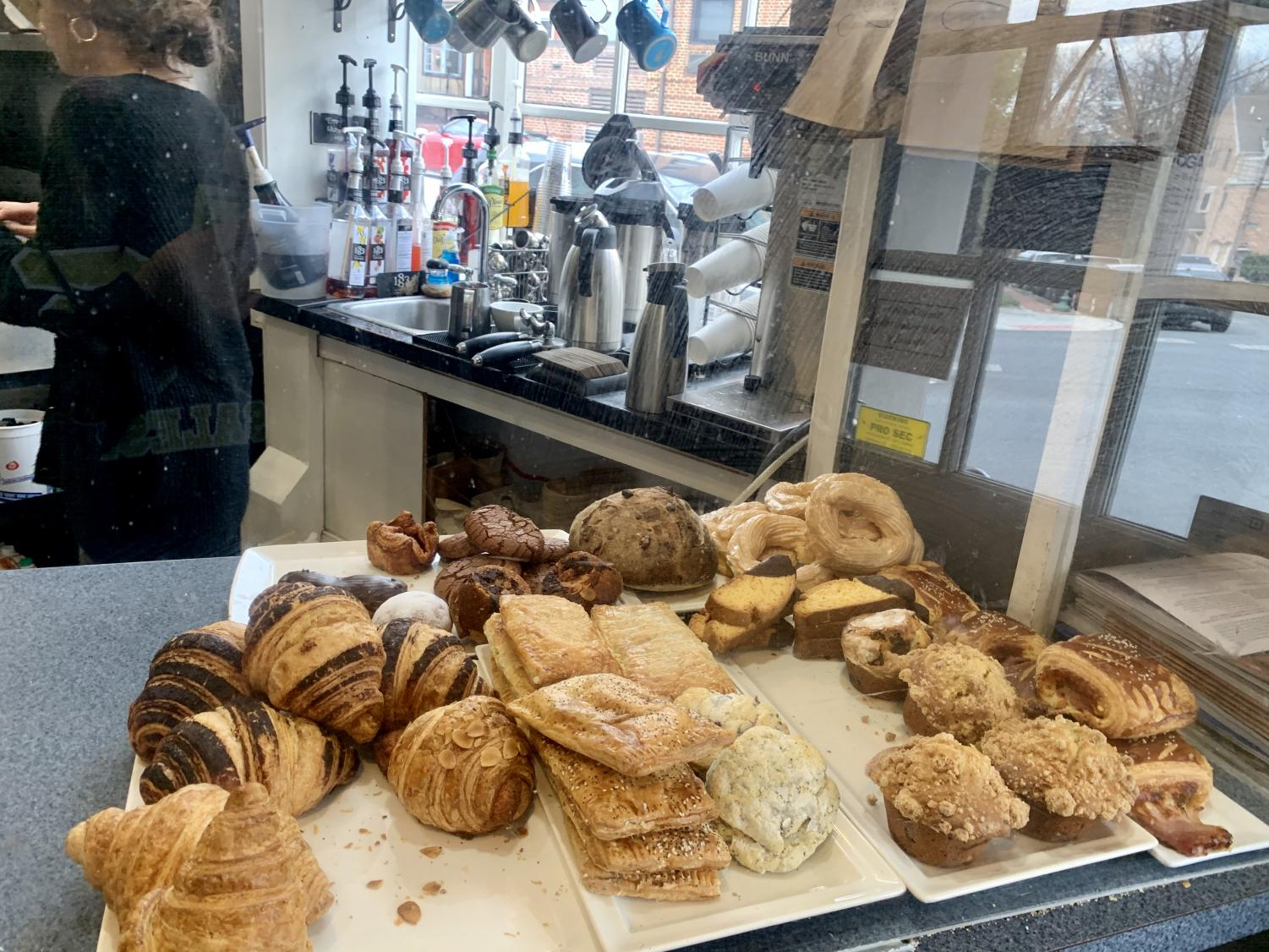 A wide variety of De La Coeur Café's pastries.