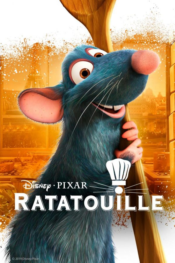 Remy the Rat is pictured in one of the official